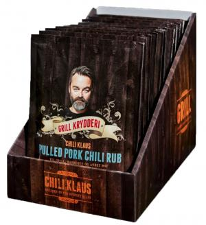 Pulled Pork Chili Rub (vindstyrka 6) - Chili Klaus