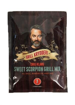 Sweet Scorpion Grill Mix (vindstyrka 7) - Chili Klaus